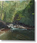 Above Bald River Falls Metal Print by William Killen