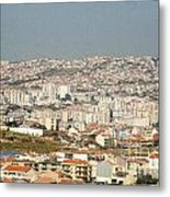 Above Lisbon Portugal Metal Print