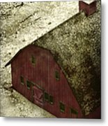 Above The Barn Metal Print