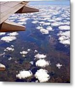 Above The Clouds IIi Metal Print