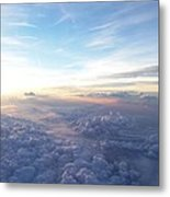 Above The Earth Metal Print