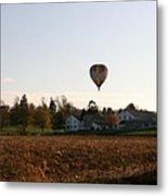 Above The Farm Metal Print