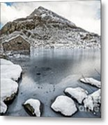 Above The Ice Metal Print