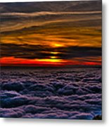 Above The Marine Layer Metal Print
