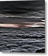 Above The Marine Layer V2 Metal Print