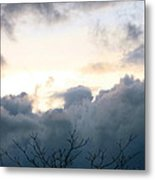 Above The Storm 2 Metal Print
