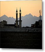 Above The Tains Metal Print