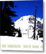 Above The Timberline  Mt Hood  Oregon Metal Print by Glenna McRae
