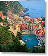 Above Vernazza Metal Print by Inge Johnsson