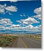 Abq From 9 Mile Hill Metal Print