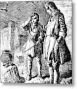 Abraham Darby (1678-1717) Metal Print
