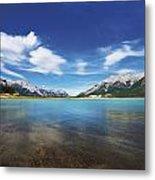 Abraham Lake Alberta Canada Metal Print