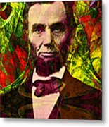 Abraham Lincoln 2014020502p28 Metal Print by Wingsdomain Art and Photography