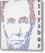 Abraham Lincoln  Metal Print by Gary Keesler