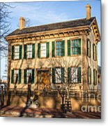 Abraham Lincoln Home In Springfield Illinois Metal Print