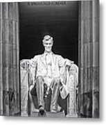 Abraham Lincoln Memorial Metal Print