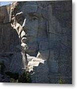 Abraham Lincoln Mount Rushmore National Monument Metal Print