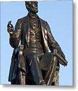 Abraham Lincoln Statue Philadelphia Metal Print