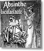Absinthe Poster, 1892 Metal Print