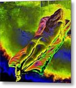 Absorbed By Tales Of Books Metal Print