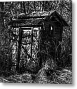 Absorbed By Time Metal Print by Thomas Young
