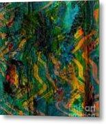 Abstract - Emotion - Apprehension Metal Print