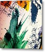 Abstract - Splashes Of Color Metal Print