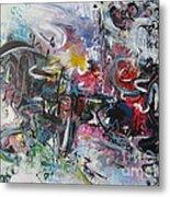 Abstract 00111 Metal Print