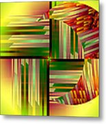 Abstract 0411 Metal Print
