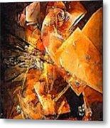Abstract 0549 - Marucii Metal Print