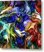 Abstract 082713b Metal Print