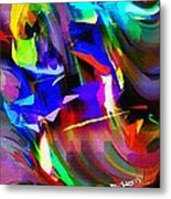 Abstract 082713d Metal Print