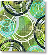 Abstract 1 Metal Print by Lisa Noneman