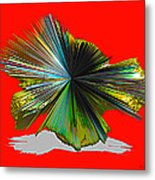 Abstract #140810 - Untitled  Metal Print
