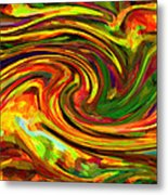 Abstract 17 Metal Print by Kenny Francis