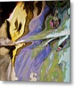 Abstract 3909 Metal Print