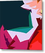 Abstract 4-2013 Metal Print by John Lautermilch