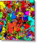 Astratto - Abstract 50 Metal Print