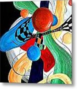 Abstract 525-11-13 Marucii Metal Print
