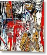 Abstract 526-11-13 Marucii Metal Print