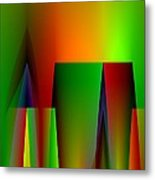 Abstract A018 Metal Print