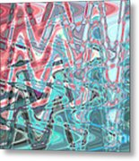 Abstract Approach Iv Metal Print