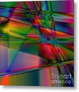 Lineage - Square Abstract Print Metal Print