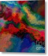 Intrigued - Abstract Art  Metal Print