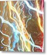 Light Painting - Abstract Art 2 Metal Print