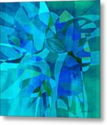 abstract - art- Blue for You Metal Print