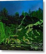 Abstract Art Nature Scenery Metal Print