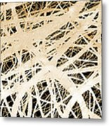 abstract- art- Neurons Metal Print