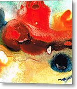 Abstract Art - No Limits - By Sharon Cummings Metal Print