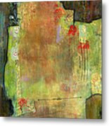 Abstract Art Where The Love Is Metal Print